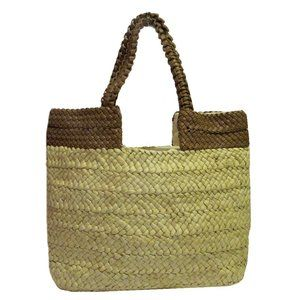 GIANI BERNINI Striped Natural Straw Tote Bag:$139.